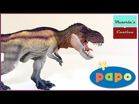 Papo 2016 Rainbow Running Tyrannosaurus Rex Review