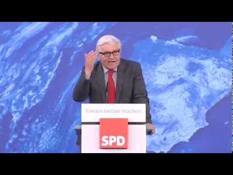 Steinmeier schreit Gegner bei Demo nieder