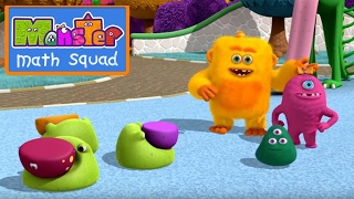 Monster Math Squad | FULL EPISODE | Monsters At Play | Learning Numbers Series