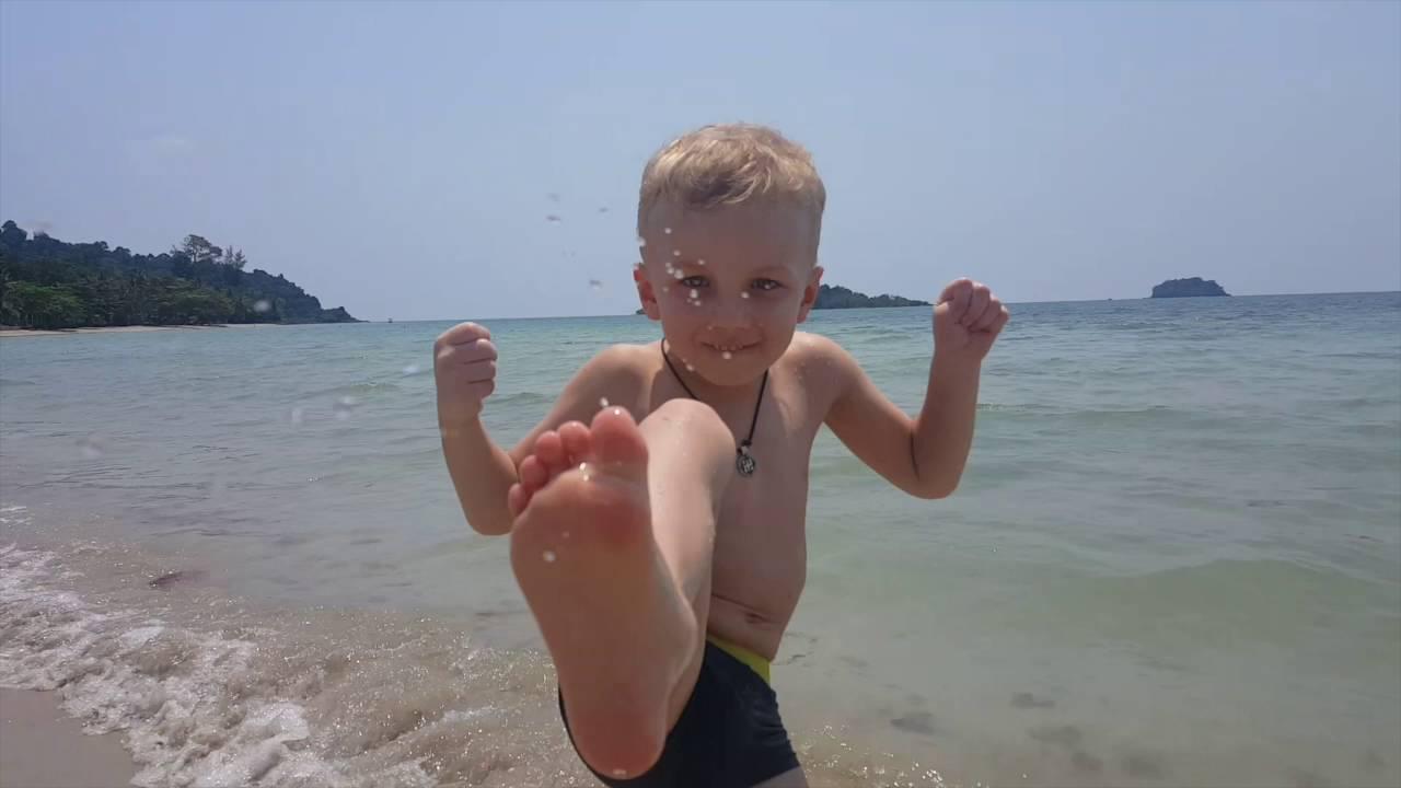 Тайский бокс для детей.В 5 лет не рано. - YouTube