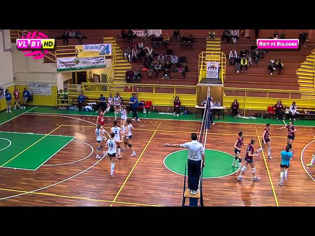 Fortitudo Rieti vs Idea Bologna - 3° Set
