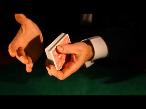 Learn how to shuffle playing cards like a Pro- the perfect overhand shuffle for poker