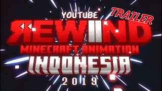 Youtube Rewind Minecraft Animation Indonesia 2019 TRAILER - FarisSayyaf