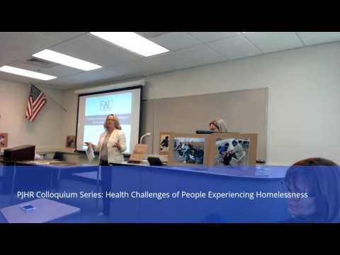 Colloquium Series: Health Challenges of People Experiencing Homelessness
