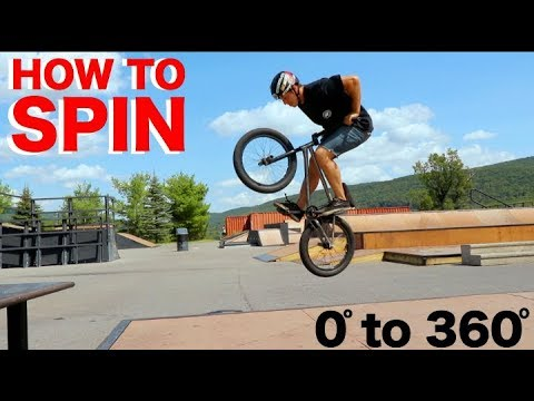 BMX: How-To SPIN!
