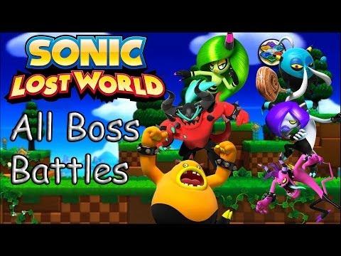 Sonic Lost World All Bosses / Zazz, Zomom, Zik, Zeena, Zor, Zavok