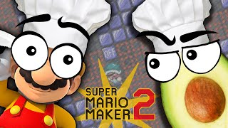 Mario Maker 2, but explained with food