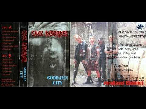 CIVIL DISORDER (Jakarta Street Punk) - Sick of the Government