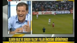 Slaven Bilic Euro 96 Sergen Yalcin ve Hakan sukur ile Komik ani