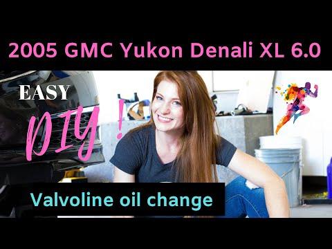 1999-2006 GMC Yukon Denali XL 6.0 - Oil Change - DIY - Valvoline Oil Change - Oil Change Near Me
