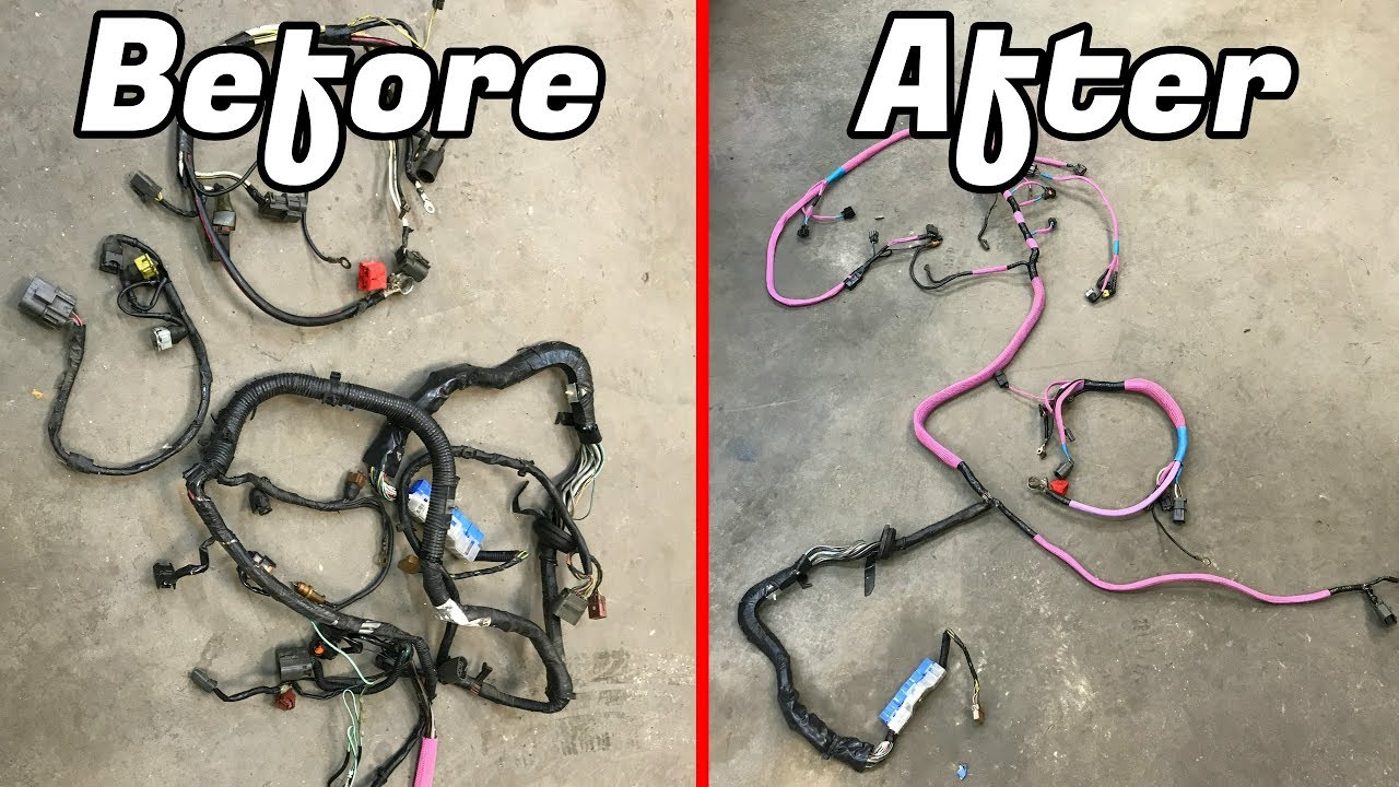 medium resolution of diy engine harness restoration