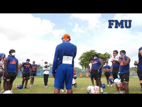 Florida Memorial University Football - No Mask, No Practice