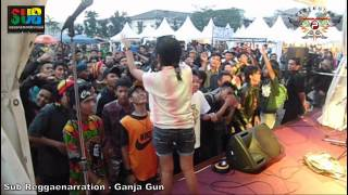 SUB Reggaenarration - Ganja Gun (bob marley) at @bandcloth_fest 2013