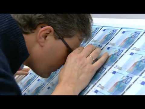 Drukken van bankbiljetten in Nederland