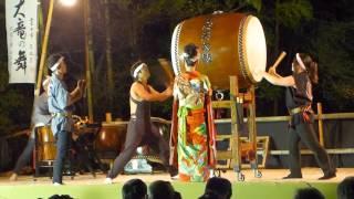 2015年9月26日に開催された「姫名の里まつり」での太鼓と踊りの模様です。