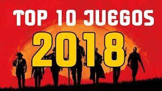 TOP 10 JUEGOS 2018