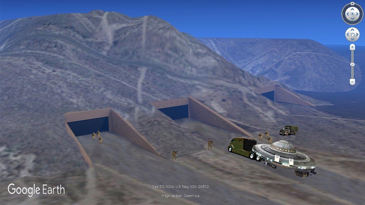 Descubren una entrada secreta en el rea 51 doovi for Area 51 progetti