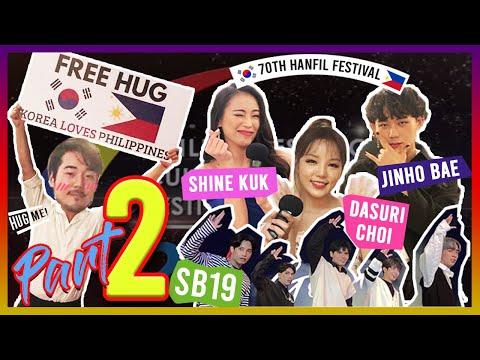 PART 2 | HanPhil Interview (Dasuri Choi, Shine Kuk, Jinho Bae, SB19) | FREE HUG