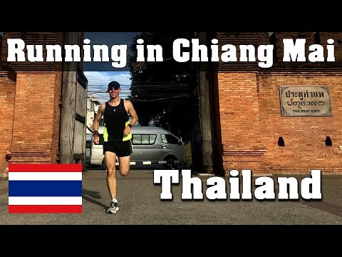 Running in Chiang Mai, THAILAND