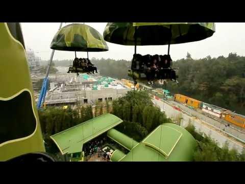 Hong Kong Disneyland - Toy Soldier Parachute Drop