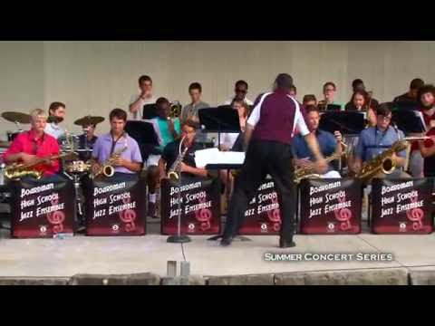 Summer Concert Series:  Boardman High School Jazz Ensemble