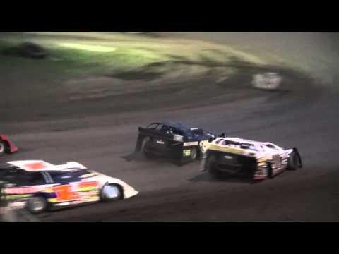 IMCA Late Model Sunday Series feature Benton County Speedway 4/24/16