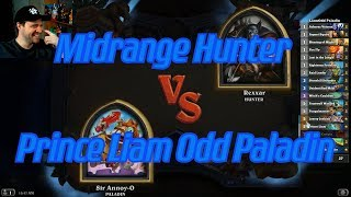 Prince Liam Odd Paladin vs Midrange Hunter - Hearthstone