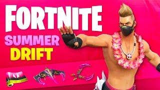 GET THE NEW SUMMER DRIFT in Fortnite! (14 DAYS OF SUMMER)