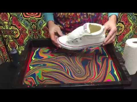 BLVisuals : Marbling Converse Chuck Taylor Shoes