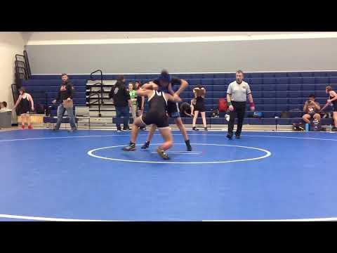 Aaron wrestling vs Olympia middle school
