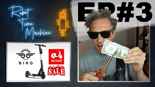 BIRD BUYS SCOOT?! (EP #3) Robot Time Machine w/ Gray Bright Podcast Show