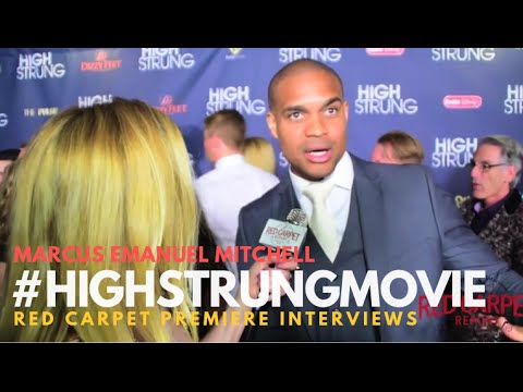 """Marcus Emanuel Mitchell at the Red Carpet Premiere for """"High Strung"""" #HighStrungMovie"""