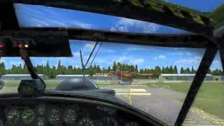 "Wasserbomber im ""Orcaland"" CANADAIR CL-215"