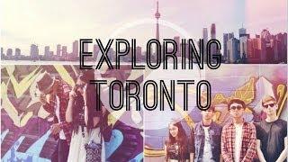 VLOG- Exploring Toronto (Livestock, Brandy Melville etc) Thumbnail