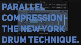 How to: Parallel compression - New York drums