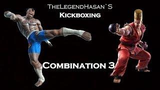 Kickboxing - Fighting combination 3 (Full HD)