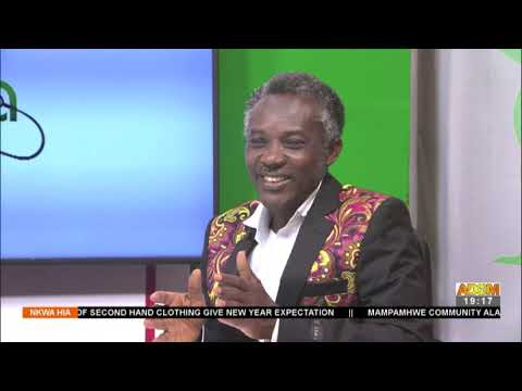 New Year's Resolution on Diet - Nkwa Hia on Adom TV (4-1-21)