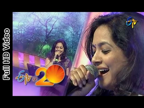Sunitha Performance - Tolisari Mimmalni Choosindi Modalu Song in Viajaywada ETV @ 20 Celebrations