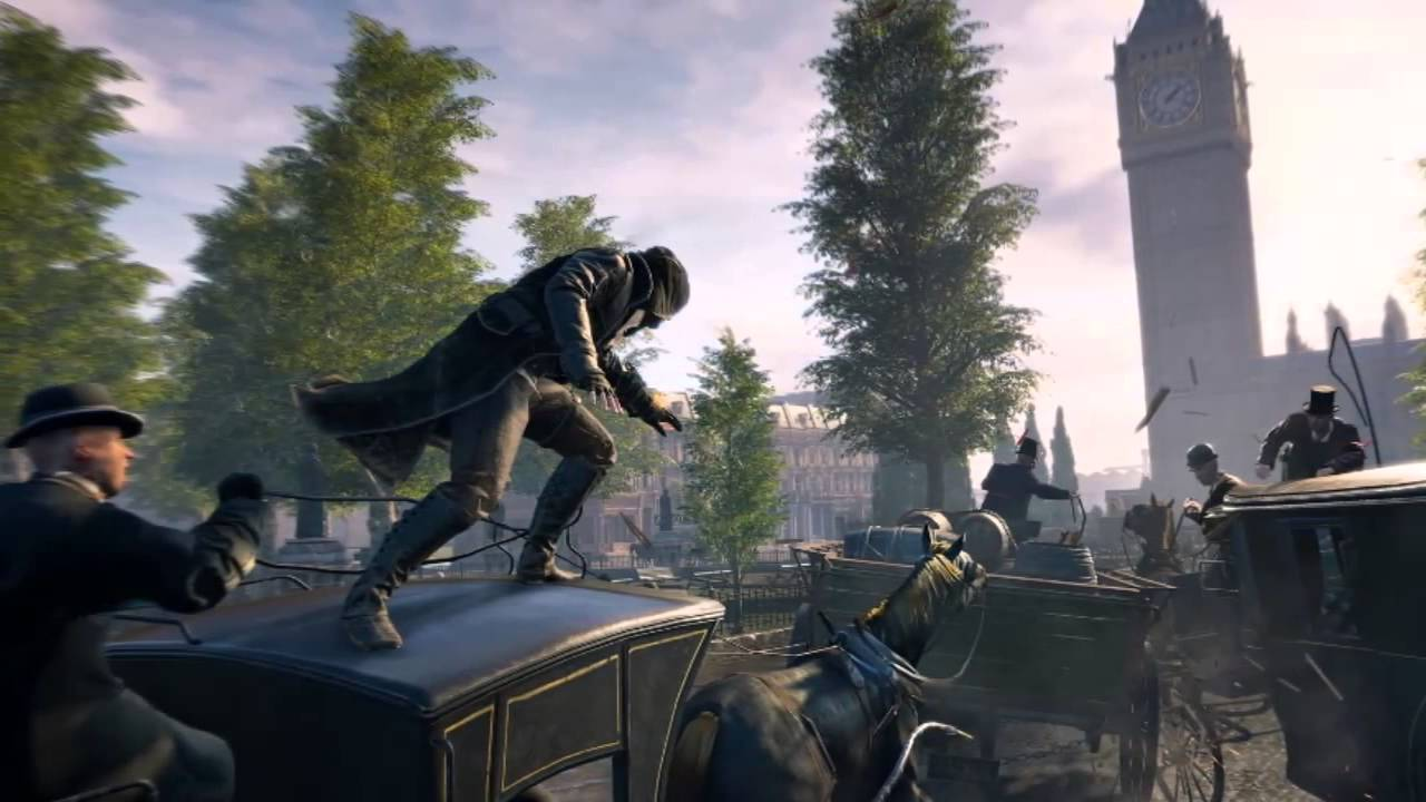 Assassin S Creed Syndicate First Gameplay Screenshots And Artwork