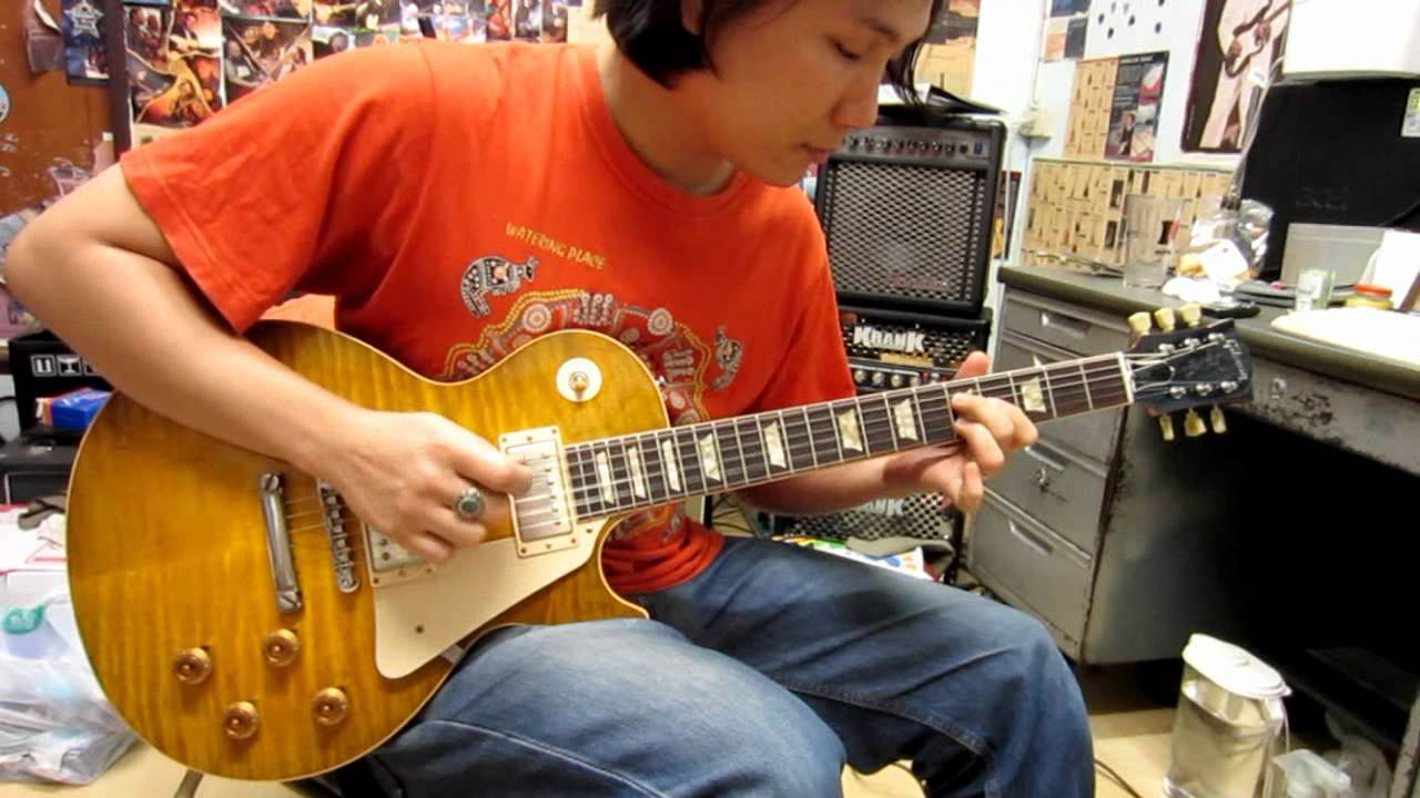 gibson guitar collectors choice 2 1959 les paul goldie clean sound youtube. Black Bedroom Furniture Sets. Home Design Ideas