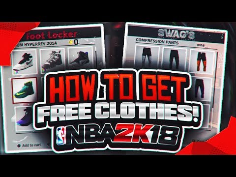 NBA 2K18: Free Clothes And Shoes Glitch Tutorial | *NEW* 2K Sports Store Glitch