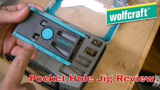 Wolfcraft Undercover Jig - Cheaper Version Of A Pocket Hole Jig.