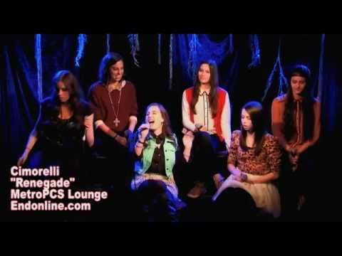 Cimorelli - Renegade LIVE at MetroPCS Lounge