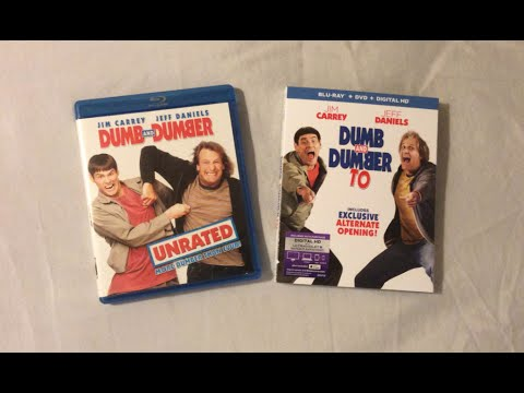 Dumb And Dumber Vs Dumb And Dumber To 1994 2014 Blu Ray Discussion Review Youtube
