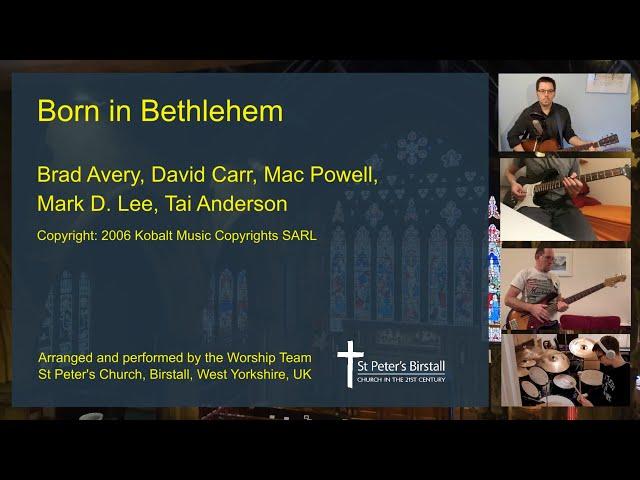Born In Bethlehem