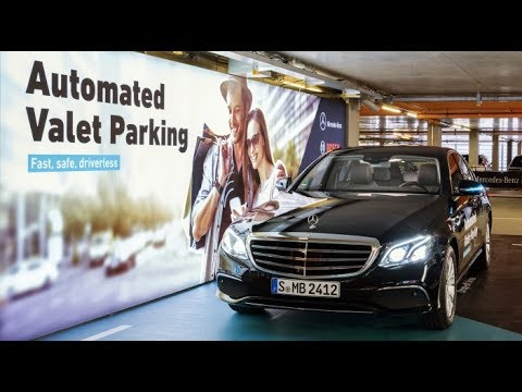 Mercedes-Benz Automated Valet Parking - Full Demo