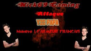 attaque sur le numero 1 du farm francais y3s papa clash of clans