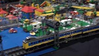 Nederlandse NS treinen in Lego