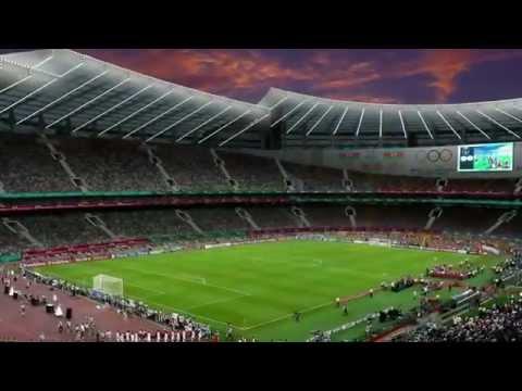 Baku Olympic Stadium.