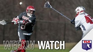 INCREDIBLE LACROSSE PASS | Weekly Watch